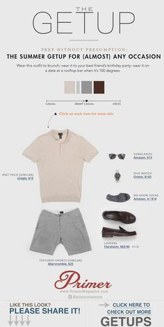 0c1dc47d01b The Getup  Prep Without Presumption - The Summer Getup for (almost) Any  Occasion