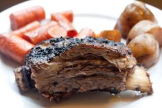 grilled and braised short ribs