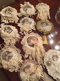 Maybe make sum with photos of family members no longer with us or a Christmas  photo collage My Christmas Ornaments 11/04/16