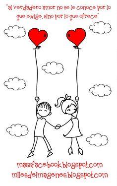 el amor no se le conoce por lo que exige sino por lo que ofrece y yo te ofrezco…