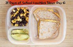 31 Days of School Lunchbox Ideas - Day 6   5DollarDinners.com