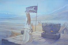 Beautiful paint of Eowyn