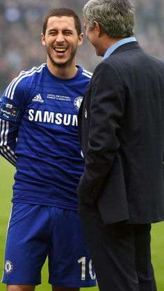 Eden Hazard / José Mourinho