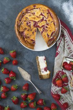 Cheesecake con fresas 6