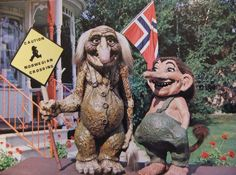 Scary Norwegian Trolls