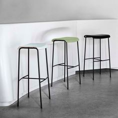 Magnus Olesen | Pause Bar Stools http://www.apresfurniture.co.uk/pause-bar-stools