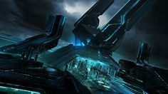 Film Sketchr: Eye-Popping TRON: LEGACY Concept Art by Ben Procter