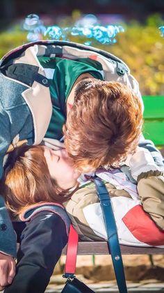 Weighlifting Fairy Kim Bok Joo, Nam Joo Hyuk Lee Sung Kyung, Kdrama, Joon Hyung, Kim Book, Park Hyung Shik, Swag Couples, Cute Couple Wallpaper, My Love From Another Star