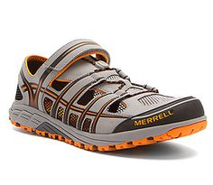 Merrell Mixmaster Maze Mens Gray/Orang Water Shoes Walking Trainers Sports Shoes #Merrell #SportSandals