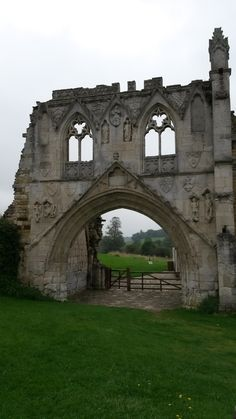 Kirkham Priory: Rievaulx Abbey: Robert de Ros, 1st Baron of Hamlake brought Kirkham Priory to the match with Isabelle de Albini, the only surving child of William de Albini IV.