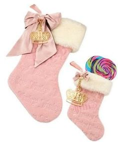 Juicy Couture Graphics, Christmas stocking?! I MUST HAVE NATHAN!