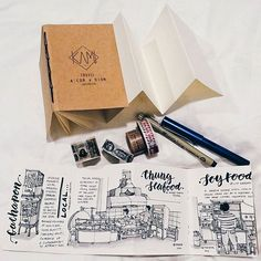 Proudly present KAMI ART - Travel A'Cor x Dion Sketchbook! This is my Foodstall sketch in kuching! ❤ Hope you guys out there can generously fund to support this crowdfunding project of mine and help to share it to your friends! Thank you all ❤ The link it's on my IG Profile Page! Feel free to check it out. Hey guys! I've just launched a crowdfunding campaign on www.Umadx.com for a new product I've created: TRAVEL A'COR x DION Sketchbook by KAMI ART. It's a pocket-sized accordion-style...