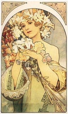 mucha, paris posters, paris inspiration, mucha poster, art noveau, paris vintage fashion