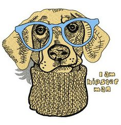 d9e8e517209 Hipster dog 2 embroidery design