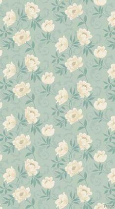 Vintage Duck Egg Wallpaper -10583