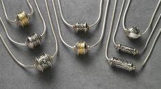 John Blair Design's Portfolio of his Jewellery and Art Works. John Blair, Form Design, Metal Beads, Portfolio Design, Arrow Necklace, Handmade Jewelry, Hacks, Gallery, Tools