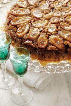 Splurge-Worthy Thanksgiving Desserts: Bananas Foster Upside-Down Cake