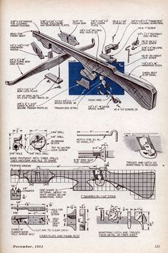 Make your own crossbow.
