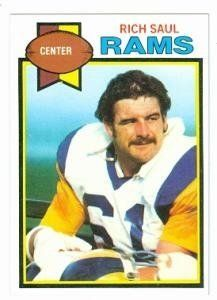 Rich Saul football card (Los Angeles Rams) 1979 Topps #346 by Hall of Fame Memorabilia. $30.95. Rich Saul football card (Los Angeles Rams) 1979 Topps #346. Signed items come fully certified with Certificate of Authenticity and tamper-evident hologram.