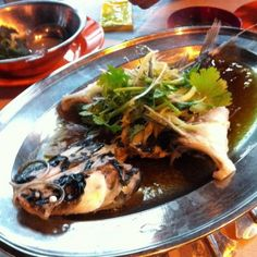 レシピとお料理がひらめくSnapDish - 2件のもぐもぐ - Steamed river catfish by Darren Lo