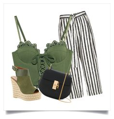 """""""green summer outfit"""" by evelina-hagstrom on Polyvore featuring River Island, Puma, Chloé and Mojo Moxy"""