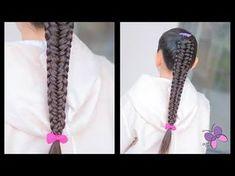 Trenza de Borde   Peinados para Niñas   Trenzas Faciles y Bonitas   Chikas Chic - YouTube