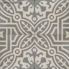 Large format cement tiles and cement on pinterest for Encaustic tile dallas