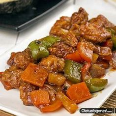 For sure, it is a mysterious food. Healthy Recipes, Pork Recipes, Asian Recipes, Cooking Recipes, Mexican Dessert Recipes, China Food, International Recipes, Ratatouille, Easy Meals