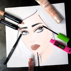 Create this gorgeous summer makeup look for your next outdoor occasion. All the products are long lasting so your slay will last all day. To get this natural eye look, apply Maybelline Color Tattoo Crayon in 'Barely Beige' from the inner corner to the center of the lid. Add 'Pink Parfait' from the center to the outer corner, blending where the shades meet. Define the eyes with Unstoppable Eyeliner along the lower lashline. Finish with Great Lash mascara for a natural makeup look that still…