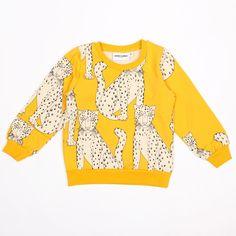 Adore this!! Mini Rodini Snow Leopard Sweatshirt