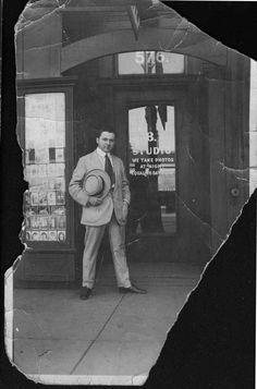Abe Bernstein leader of Detroit's Purple Gang.