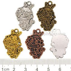 Zinc Alloy Dragon Charms,Epoxy Setting,Plated,Cadmium And Lead Free,Various Color For Choice,Approx 26.5*17*2mm,Hole:Approx 2mm,Sold By Bags,No 000852