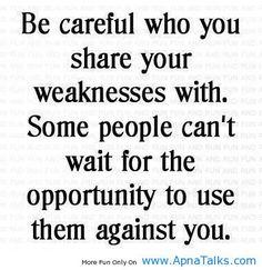 How very true!
