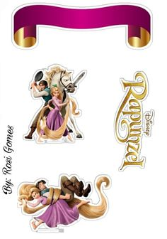 Oh My Fiesta! in english Bolo Rapunzel, Rapunzel Disney, Art Disney, Tangled Rapunzel, Rapunzel Birthday Party, Tangled Party, Princesas Da Disney Punk, Toy Story Cake Toppers, Princess Cupcake Toppers