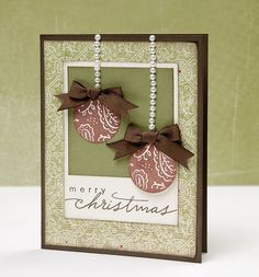 christmas cards using close to my heart cricut cartridges   Close To My Heart