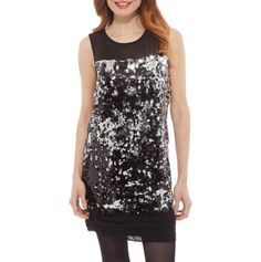 Sequin Cocktail Mini Dress