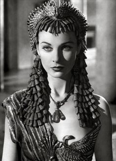 Vivien Leigh as Cleopatra - 'Caesar and Cleopatra', 1945.