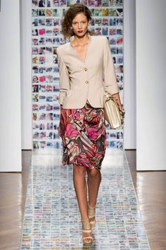 Great jacket from Aigner Spring 2013 RTW Collection -