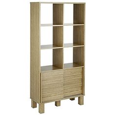 Buy Hygena Genoa Slatted Display Unit - Oak Effect at Argos.co.uk, visit…