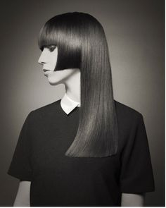 Vintage Hairstyles With Bangs Contemporary Classic - Todd Jackson Vintage Hairstyles, Hairstyles With Bangs, Trendy Hairstyles, Beauty Uk, Hair Beauty, Long Hair Cuts, Long Hair Styles, Retro Updo, Mullet Hairstyle
