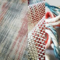 Fini 😊 ☆peinture chaîne☆ #tissage #weaving #warp #weft #chaîne #trame #teinture #dye #craft #designtextile #textile #metierdart