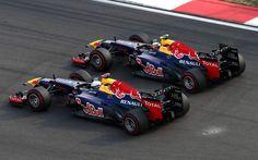 2012 Red Bull RB8 - Renault (Sebastian Vettel & Mark Webber)