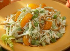 Ingredients such as red cabbage, bean sprouts, fresh ginger, rice wine vinegar and chopped peanuts give this slaw recipe its Asian flair.