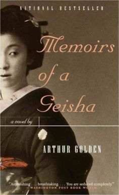 Memoirs of a Geisha was a good book, totally understandable why it was on the NYT's best seller list for as long as it was. But... I did find some parts a little creepy, okay a lot creepy.