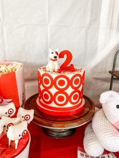 8th Birthday, 2nd Birthday Parties, Target Planner, Strawberry Buttercream Frosting, Red Tablecloth, Dog Cookies, Balloon Arch, Cupcake Toppers, Cake Pops