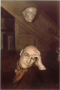 """Andre Gide by Gisele Freund """"Believe those who are seeking the truth. Doubt those who find it."""" -- Andre Gide"""