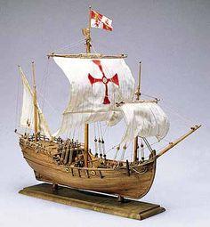 NINA, PINTA and SANTA MARIA Model Ships by Amati