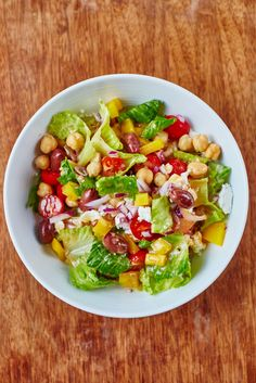 Recipe: Chopped Chickpea Salad — Quick and Easy Vegetarian Dinners