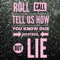 Roll call- lie