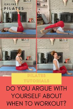 Having a hard time picking a time of the day to do your Pilates practice? I've been there. Here's what you can do to stop that. #pilates #pilatesforbeginners #workout #workouttips #workoutroutine #fitness #pilatesclass #exercises Toning Workouts, Fitness Exercises, Pilates Workout, Fitness Tips, Home Exercise Routines, At Home Workouts, Lifestyle Group, Healthy Lifestyle, Pilates Challenge